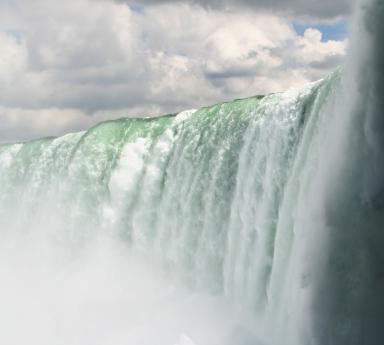 Niagara Falls (from underneath) VLW
