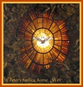 Pentecost Dove st peters rome