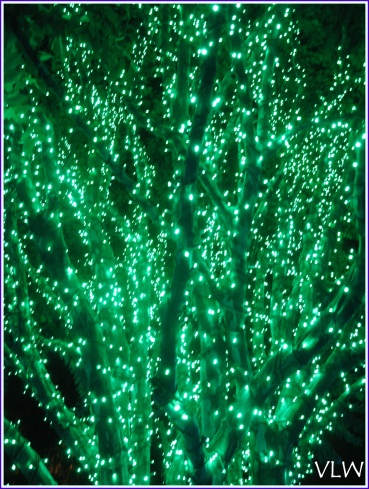 BG tree of lights green
