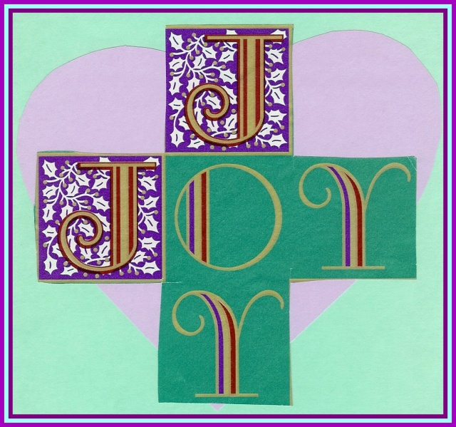 Joyful heart from christmascard (2)