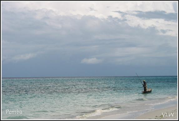 Pemba fishing boat ocean
