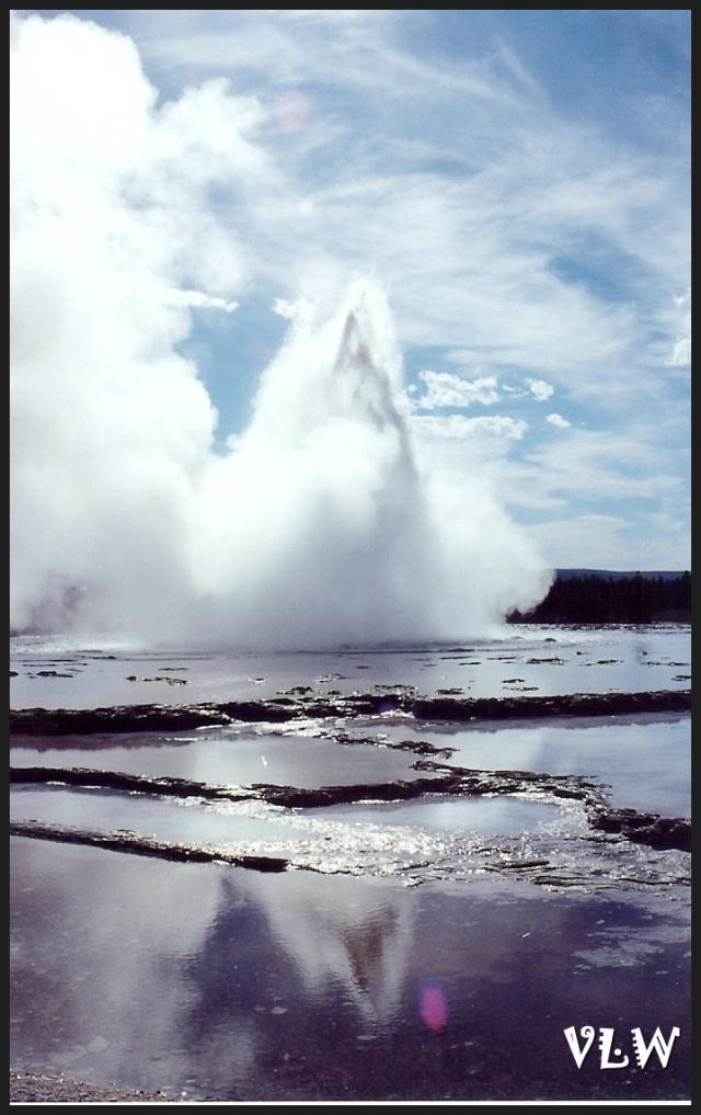 WY Great Fountain Geyser tall