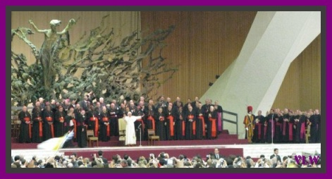 papal audience with the POPE (2)