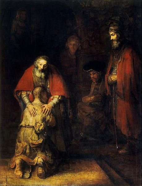 Rembrandt Return of the Prodical Son