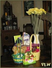 Easter bunny inside