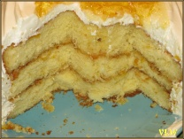 Easter Marmalade cake after dinner