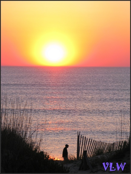 OBX sunrise person (2)