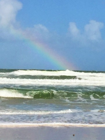 FL NSB rainbow thanksgiving close up