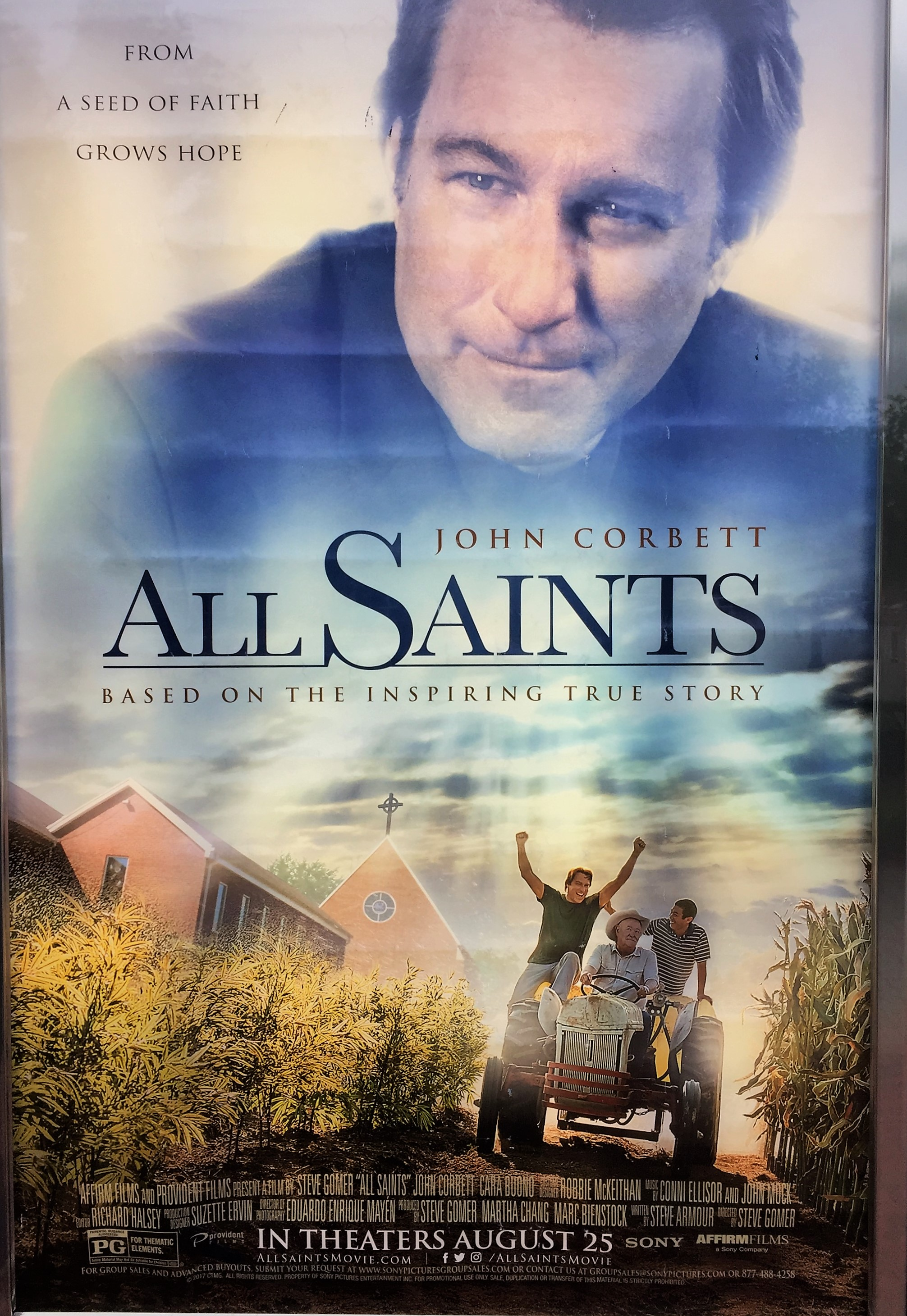 the movie �all saints� � uniting hearts inspiring hearts