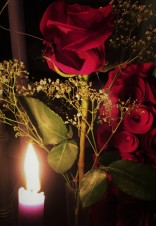 rose and candle (2)